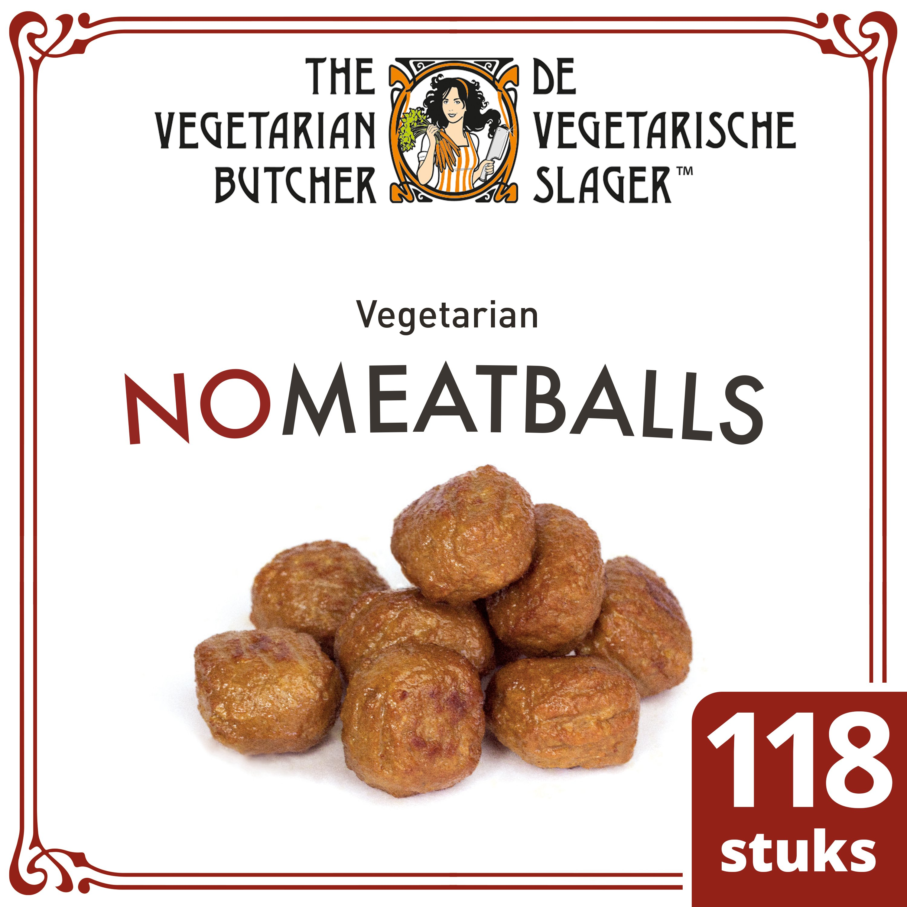 The Vegetarian Butcher NoMeatballs 2 kg -