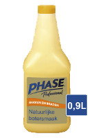 Phase with Natural Butter Flavour 900 ml