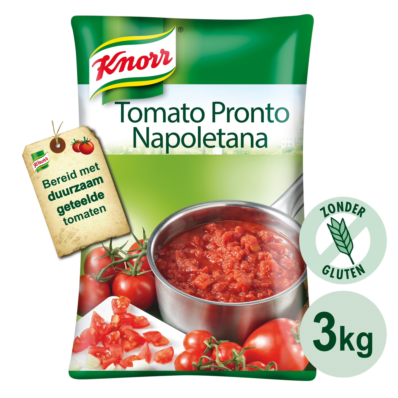 Knorr Collezione Italiana Napoletana Pouch - Knorr Napoletana is bereid met zongerijpte Italiaanse tomaten.
