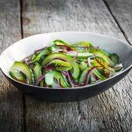 Pickled komkommer
