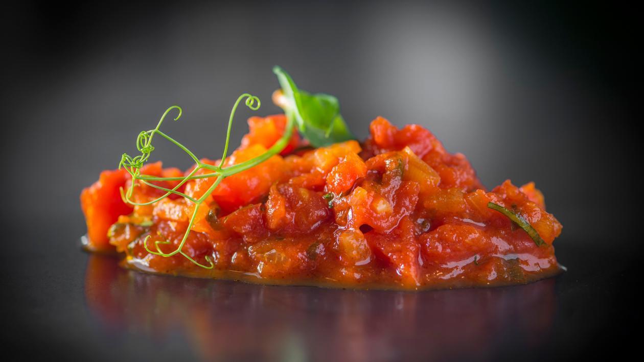 Chutney van tomaten