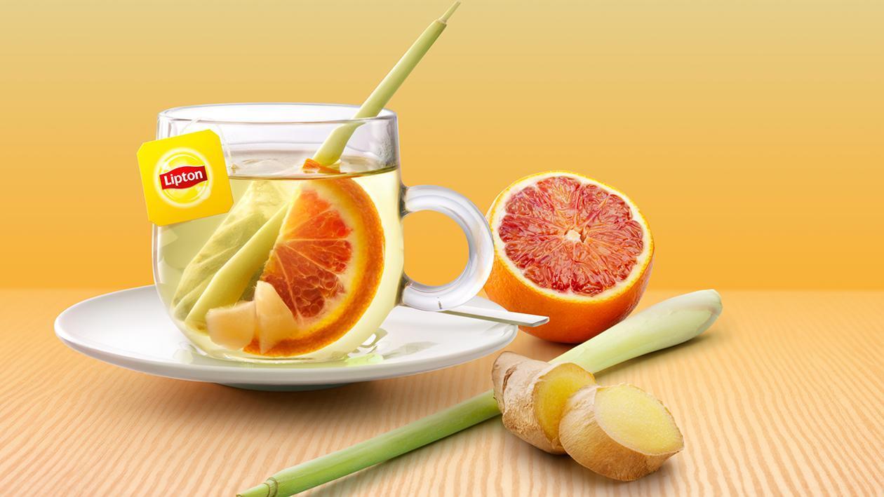 Lipton PerfectT Lemon Sencha