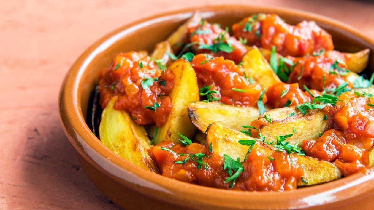 Patatas Bravas met tomatensaus