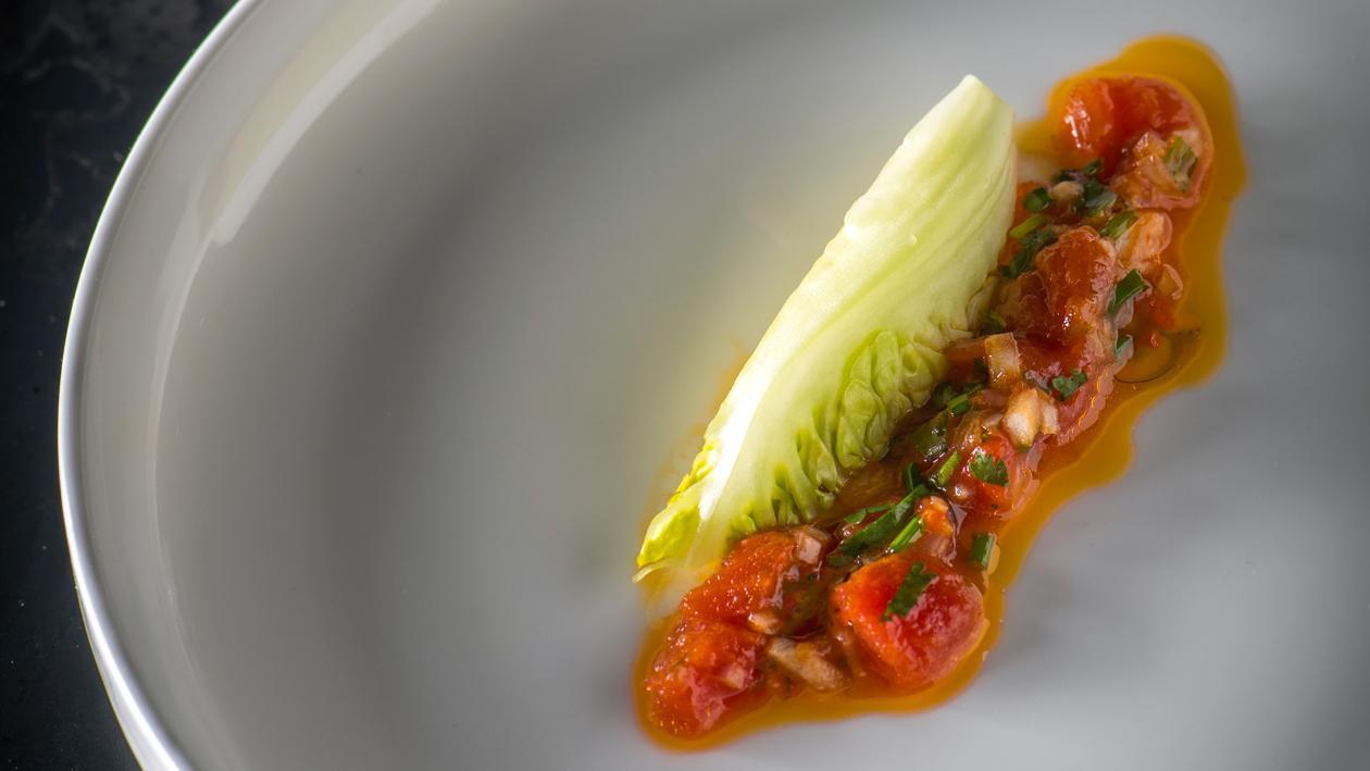 Vinaigrette van tomaat