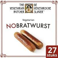 De Vegetarische Slager NoBratwurst Vegetarische Braadworst 27x90g
