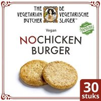 De Vegetarische Slager NoChicken Vegetarische Kipburger 30x80g