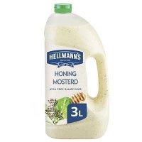 Hellmann's Honing Mosterd Dressing Vloeibaar 3L