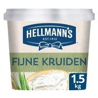Hellmann's Sandwich Delight Fijne Kruiden/Bieslook & Peterselie 1,5kg