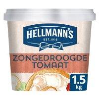 Hellmann's Sandwich Delight Roomkaas Zongedroogde Tomaat 1,5kg