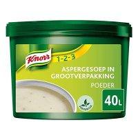 Knorr 1-2-3 Aspergesoep in grootverpakking Poeder 40L