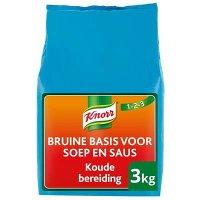 Knorr 1-2-3 Koude Basis Bruine Saus 3kg