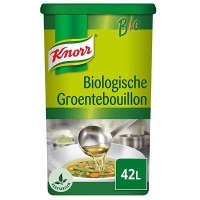 Knorr Biologische Groentebouillon opbrengst 42L