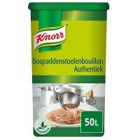 Knorr Bospaddenstoelenbouillon Authentiek Poeder opbrengst 50L