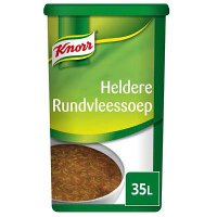 Knorr Heldere Rundvleessoep Poeder 35L
