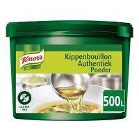Knorr Kippenbouillon Authentiek Poeder opbrengst 500L