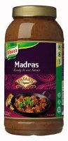 Knorr Patak's Madras Curry Saus 2.2 L