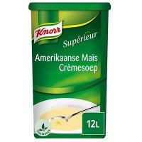 Knorr Supérieur Amerikaanse Maïs Crèmesoep Poeder 12L