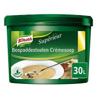 Knorr Supérieur Bospaddenstoelen Crèmesoep Poeder 30L