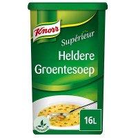 Knorr Supérieur Heldere Groentesoep Poeder 16L