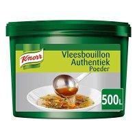 Knorr Vleesbouillon Authentiek Poeder opbrengst 500L