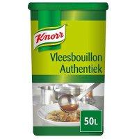 Knorr Vleesbouillon Authentiek Poeder opbrengst 50L