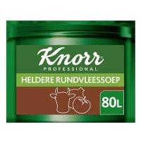 Knorr Voordeel Heldere Rundvleesssoep Poeder opbrengst 80L