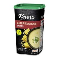 Knorr Wereld Amerikaanse Maïssoep Poeder opbrengst 12L