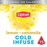 Lipton Cold Infuse Lemon Camomile 15 zakjes