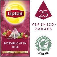 Lipton Exclusive Selection Bosvruchten 25 zakjes