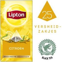 Lipton Exclusive Selection Citroen 25 zakjes