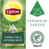 Lipton Exclusive Selection Groene Thee Munt 25 zakjes