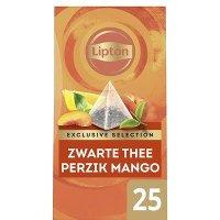 Lipton Exclusive Selection Perzik Mango 25 zakjes