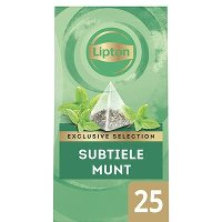 Lipton Exclusive Selection Subtiele Munt 25 zakjes