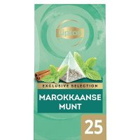 Lipton Exclusive Selection Thee Marokkaanse Munt 25 zakjes