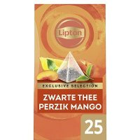 Lipton Exclusive Selection Thee Perzik Mango 25 zakjes