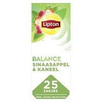 Lipton Feel Good Selection Groene Thee met Rood Fruit 25 zakjes