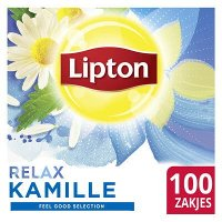 Lipton Feel Good Selection Thee Kamille 100 zakjes