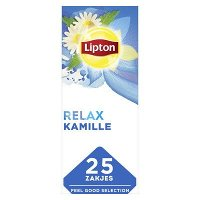 Lipton Feel Good Selection Thee Kamille 25 zakjes
