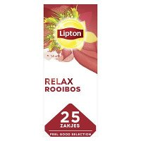 Lipton Feel Good Selection Thee Rooibos 25 zakjes