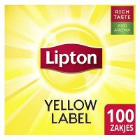 Lipton Feel Good Selection Thee Yellow Label 100 zakjes