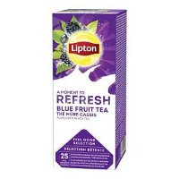 Lipton Feel Good Selection Zwarte Thee Blauwe Bes & Bramen 25 zakjes