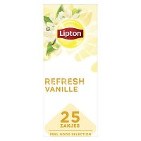 Lipton Feel Good Selection Zwarte Thee Vanille 25 zakjes
