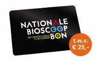 Nationale Bioscoopbon 25 euro