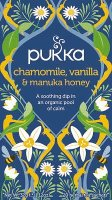 Pukka Chamomile Vanilla & Manuka Honey 20 zakjes
