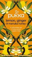 Pukka Lemon Ginger & Manuka Honey 20 zakjes