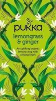 Pukka Lemongrass & Ginger 20 zakjes
