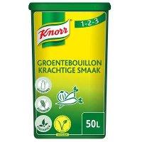 Spaar voor Knorr 1-2-3 Groentebouillon krachtige smaak Poeder opbrengst 50L