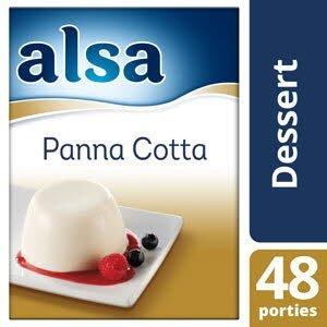 Alsa Panna Cotta Poeder 48 porties -