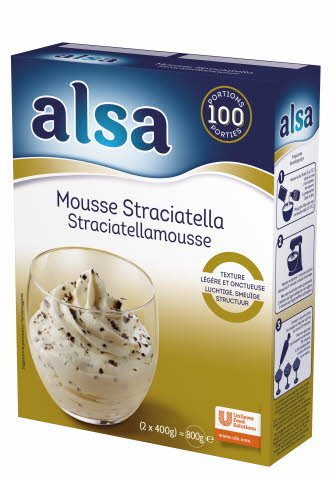 Alsa Stracciatella Mousse Poeder 100 porties