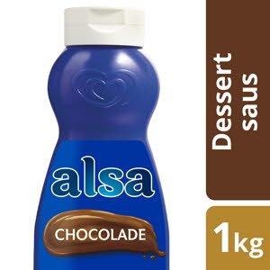 Alsa Toppingsaus Chocolade 1L